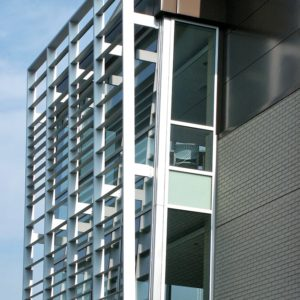 Aluminum Louvers Sunshades GVSU Housing 3
