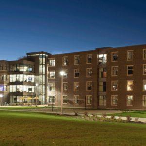 Aluminum Windows WMU Residence Hall 1