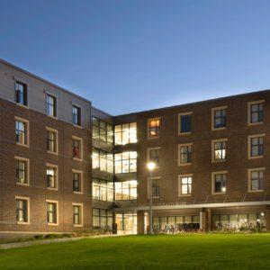 Aluminum Windows WMU Residence Hall 2