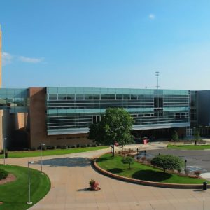 Engineered Curtainwall GVSU Kennedy 2