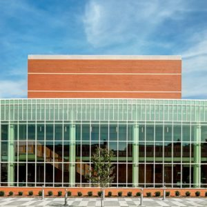 Engineered Curtainwall Hope College Miller Music Center 1