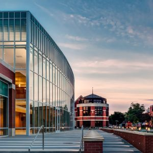 Engineered Curtainwall Hope College Miller Music Center 2