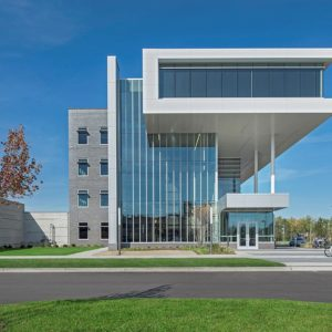 Engineered Curtainwall MSU Special Housing 1