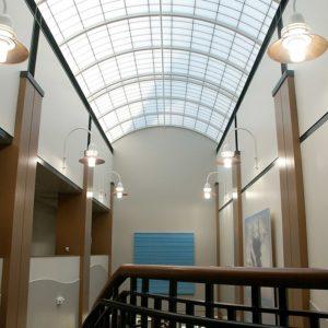 Translucent Skylights GVSU Water Research
