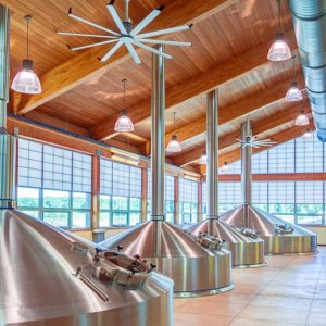 Translucent Wall Panels Bells Brewery Brewhouse 1